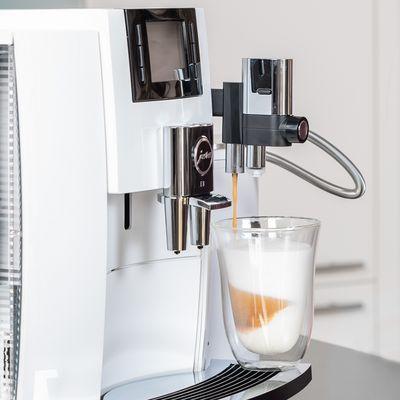 Die coolsten Features des Jura E8 Kaffeevollautomaten.
