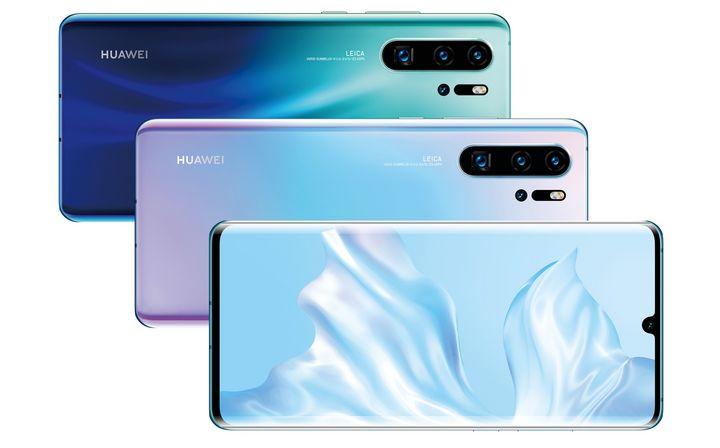 """Die """"P30""""-Serie von Huawei."""