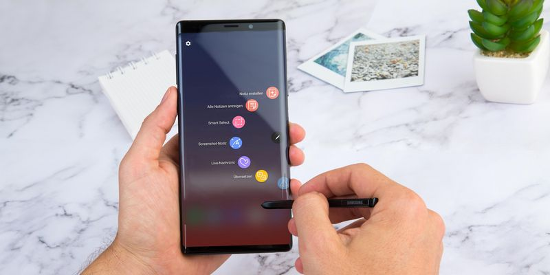 5 Gründe fürs Galaxy Note9.