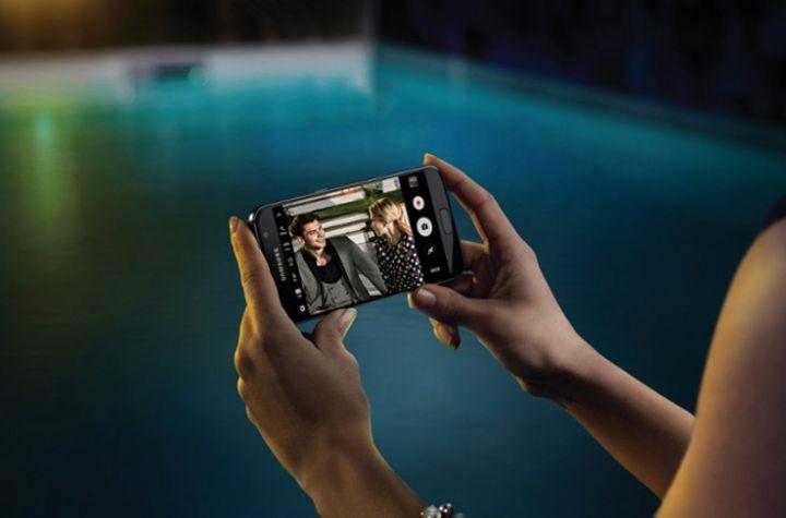 Das aktuellste Smartphone von Samsung ist das Galaxy S7.