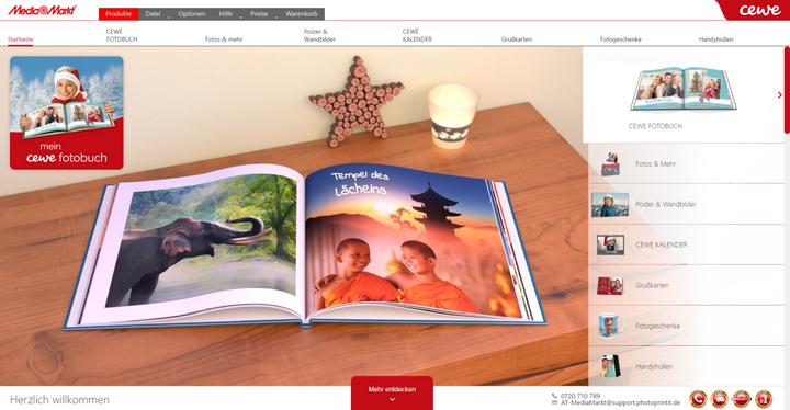 MediaMarkt-Fotoservice: So sieht die Bestellsoftware aus.