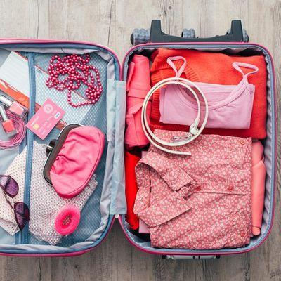 Einpacken für die Reise.