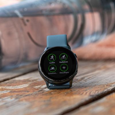 "Die Smartwatch ""Galaxy Watch Active"" von Samsung."
