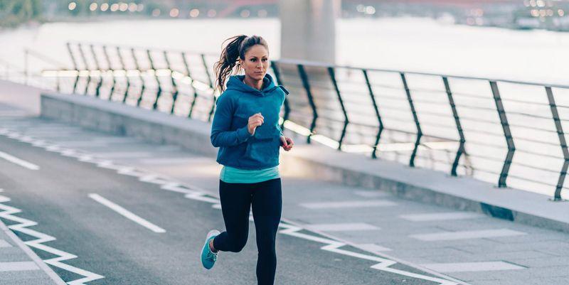 Frühsportler trainieren, wenn andere noch schlafen.