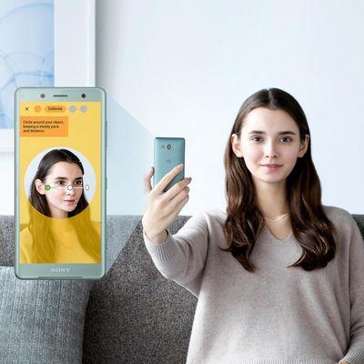 """Die neuen """"Xperia""""-Handys bieten auch Gesichtserkennung."""