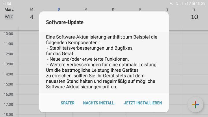 Updates optimieren das Smartphone.