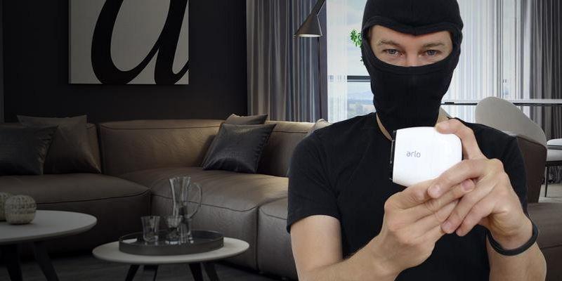 Der Ausprobierer testet die Sicherheitskamera Arlo Pro von Netgear.