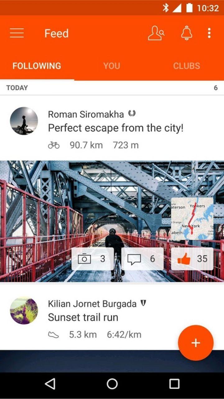 """Touren teilen & Challenges bestreiten: """"Strava"""" ist eine beliebte App für Radfahr-Freunde."""