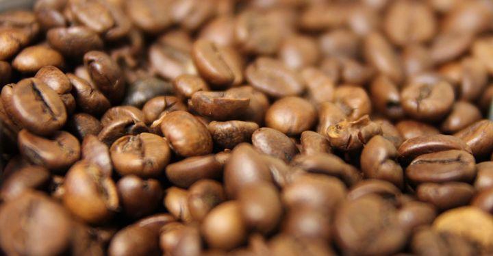 Köstlich duftende Kaffeebohnen