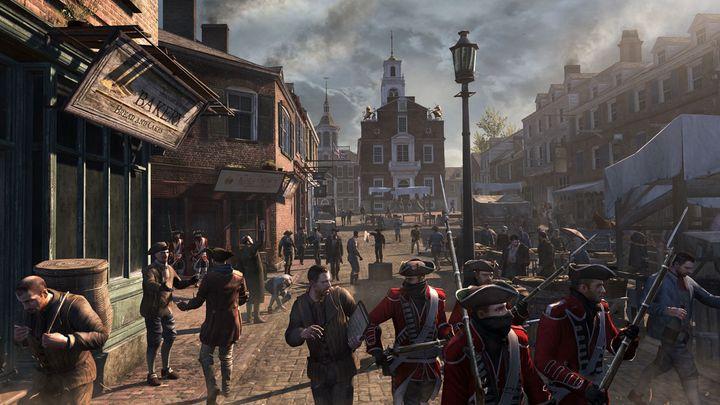 """Assassin's Creed 3"" zeigt den amerikanischen Bürgerkrieg."