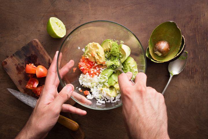 Guacamole machen.