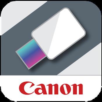 "Die App ""Canon Mini Print""."