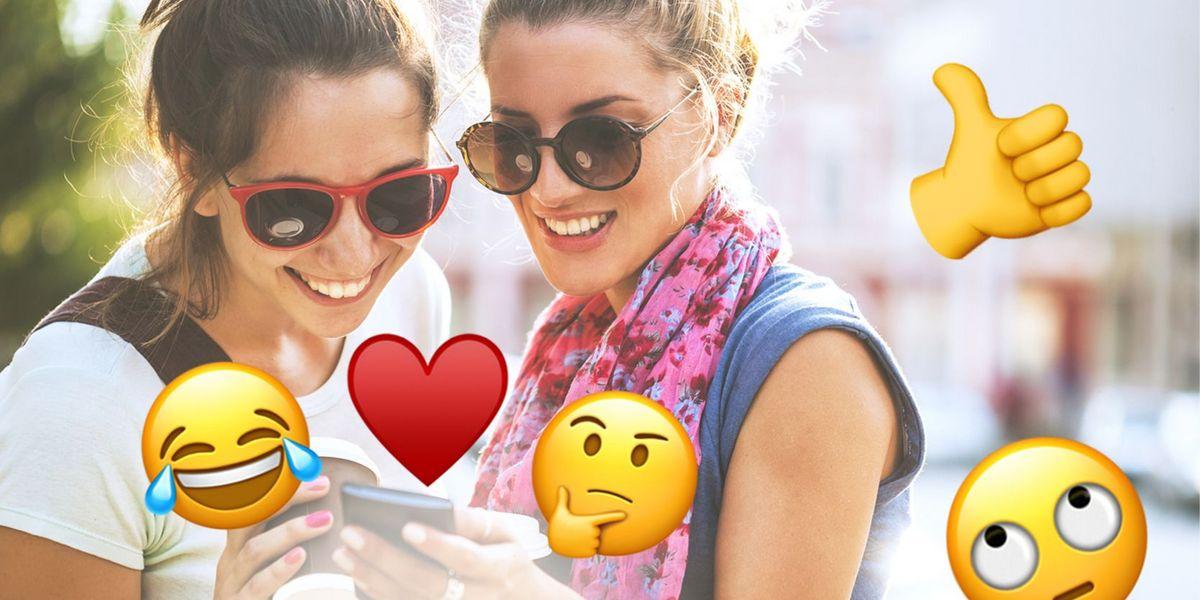 Roten backen mit smiley Emoji