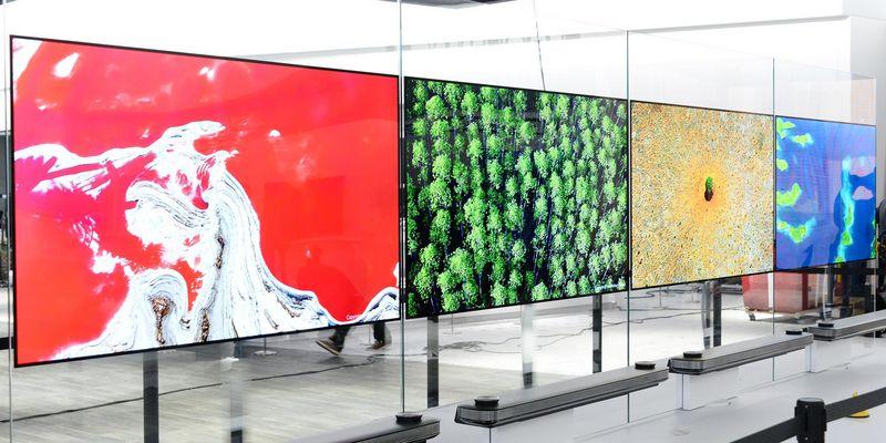 Superdünner TV von LG