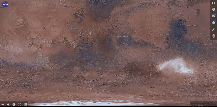 Virtuelle Reise zum Mars