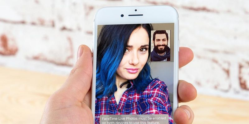 iOS 11: Live Photos in FaceTime.