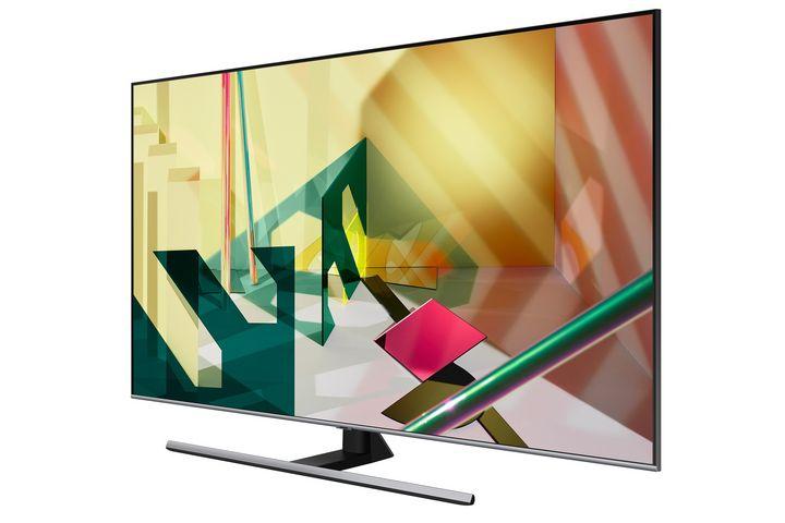 65 Zoll großer Smart-TV von Samsung.