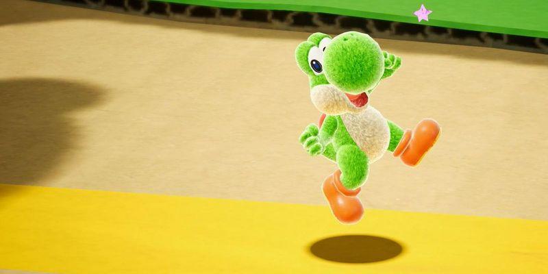 """Nintendo veröffentlicht """"Yoshi's Crafted World""""."""