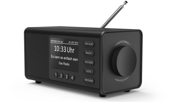 """Der rauschfreie Empfang wie beim """"Hama Digitalradio DR 1000 DE"""" ist einer der Vorteile von DAB+- Radio."""