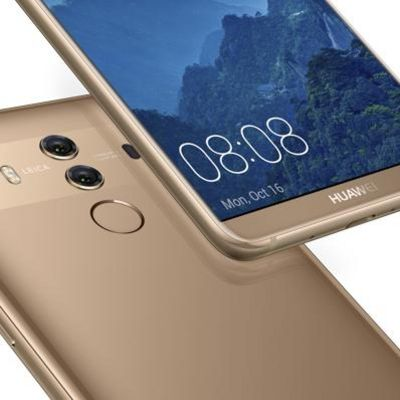 Huawei zeigt Mate 10 Lite und Mate 10 Pro.