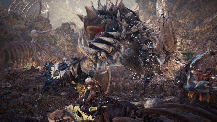 """""""Monster Hunter World"""" hat viele verschiedene Monster zu bieten."""