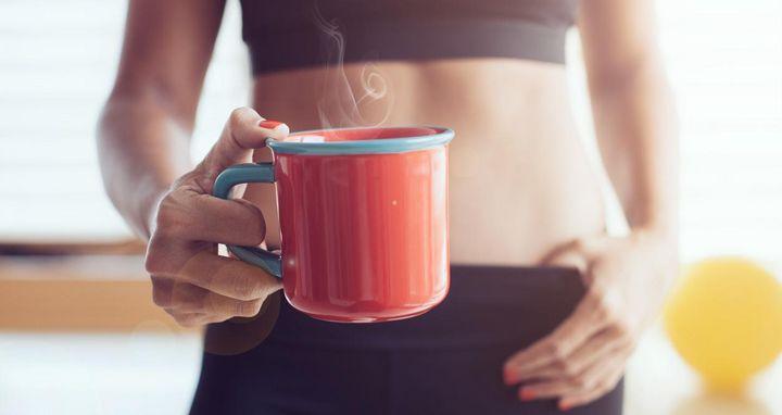 Kaffee und Sport passt gut zusammen.