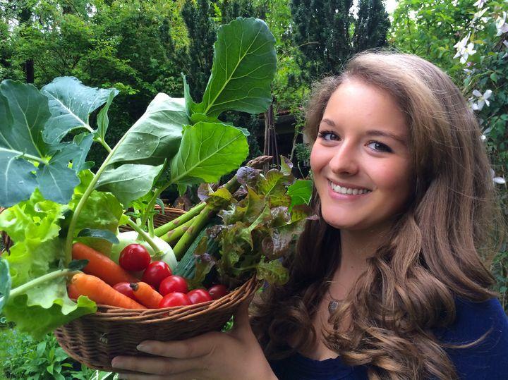 Gemüse aus eigener Ernte bringt Abwechslung in die Ernährung.