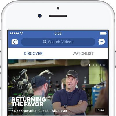 Facebook Watch neu