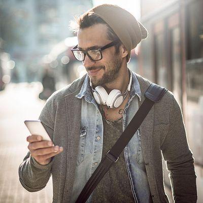 Sprachen ganz einfach mit dem Smartphone erlernen.
