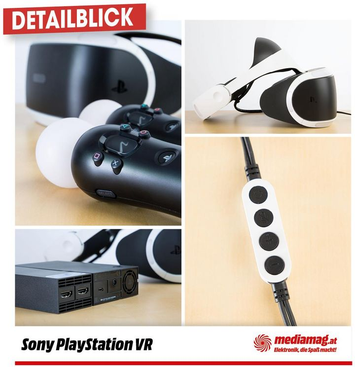 Die PlayStation VR im Detail