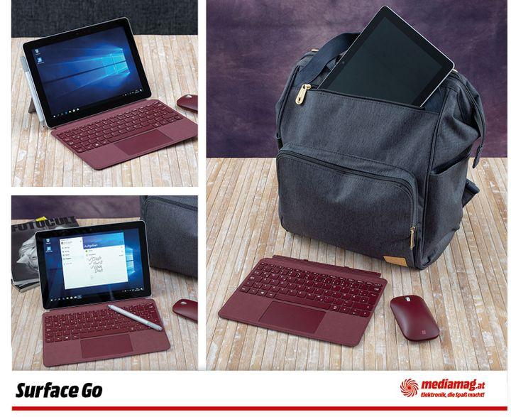 Das Microsoft-Tablet hat viel zu bieten.