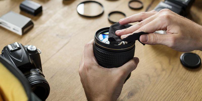 Die richtige Pflege von Kamera und Zubehör ist wichtig.