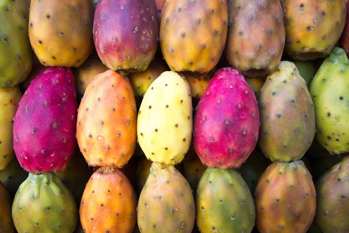Kaktusfeigen enthalten viele Vitamine und Antioxidantien.