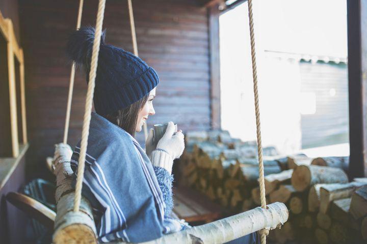 Tees sind ein toller Wasserlieferant im Winter.
