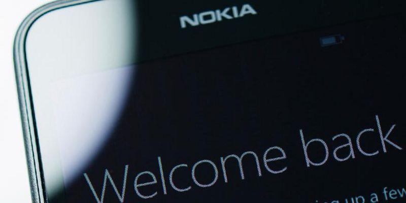 Angeblich kommen 2017 neue Smartphones mit Nokia-Logo.