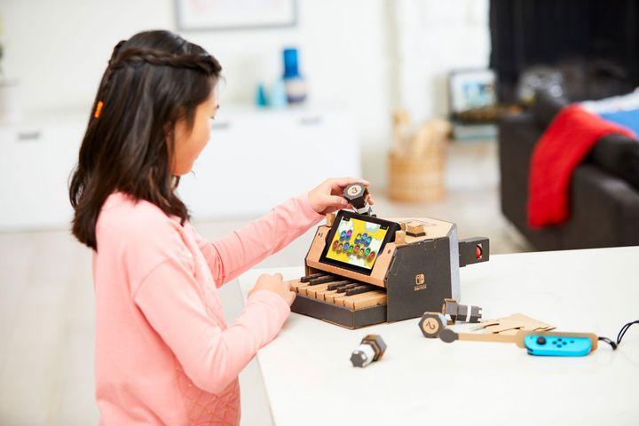 """Nintendo """"Labo"""" richtet sich hauptsächlich an Kinder."""