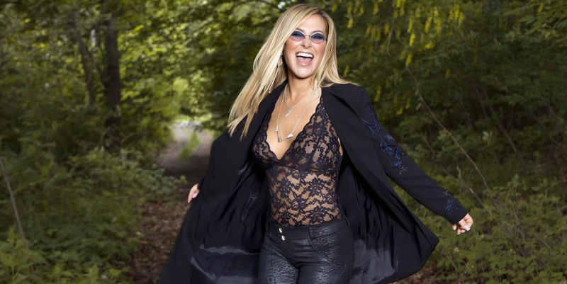 Die Sängerin Anastacia