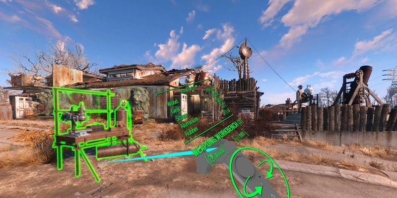 """Alle Systeme in """"Fallout 4"""" wurde für VR angepasst."""