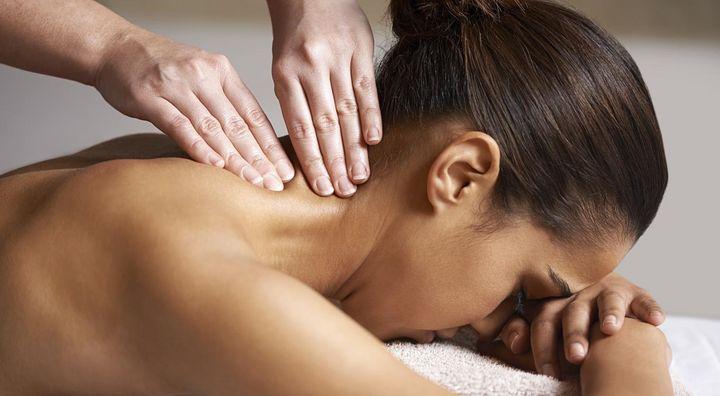 Massage kann helfen, schläfrig zu werden