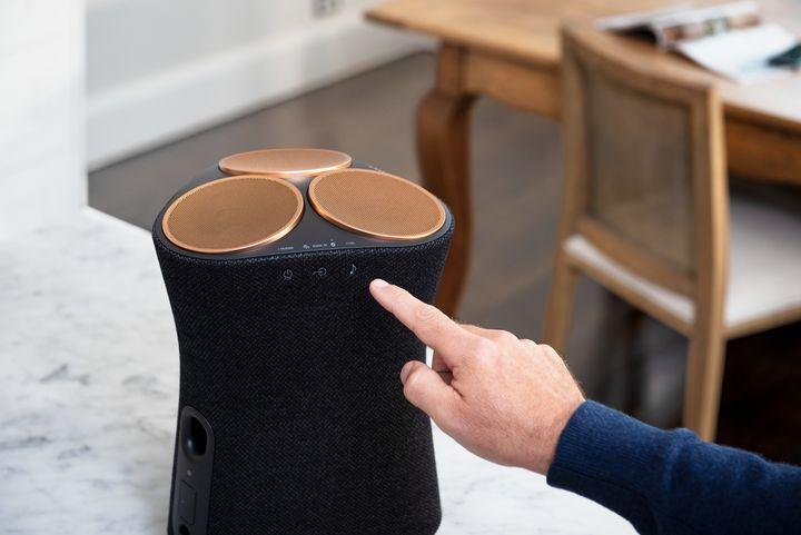 Immersives Audioerlebnis von den Lautsprechern von Sony.