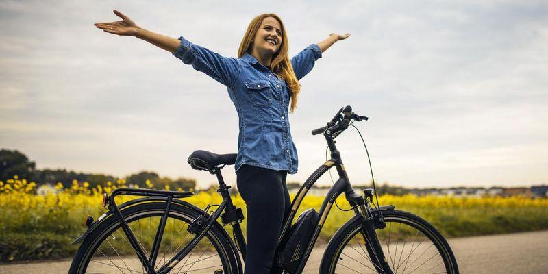 Es gibt einiges an Zubehör für das E-Bike.