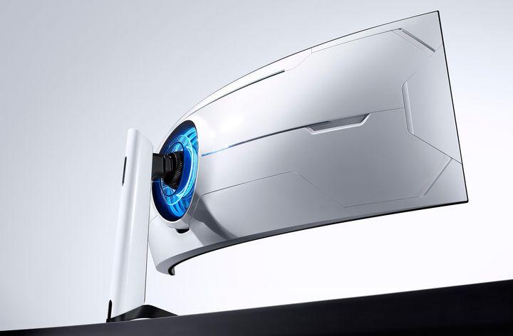 Samsung zeigt neue Gaming-Monitore.