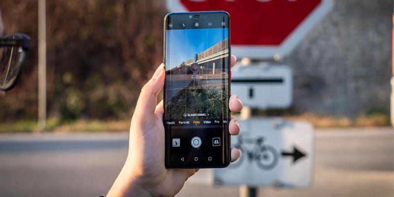 Die Kamera Effekte des Huawei-Handys.