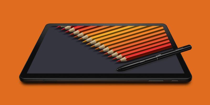 Das neue Samsung-Tablet im Porträt.