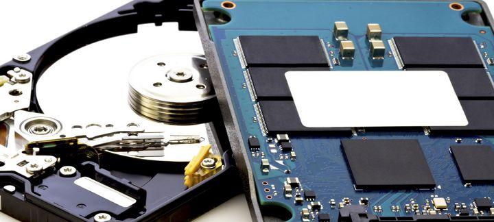 SDD statt herkömmlicher Festplatte