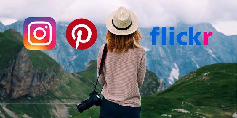Soziale Bildernetzwerke: Wir geben einen Überblick über Instagram, Flickr, Pinterest und Snapchat.