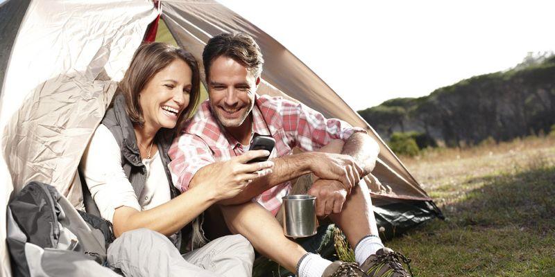 Smartes Camping