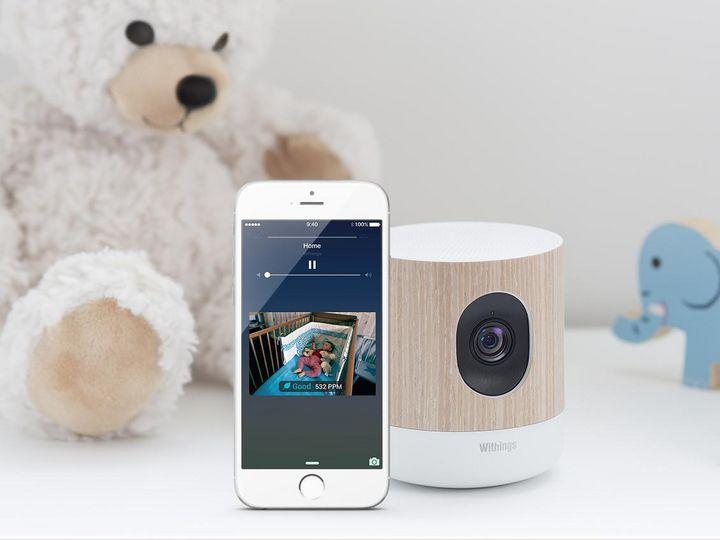 """Die smarte Kamera von """"Home Plus"""" streamt HD-Bilder rund um die Uhr an die dazugehörige Smartphone App."""