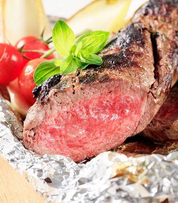 Steak am besten nach dem garen ruhen lassen.