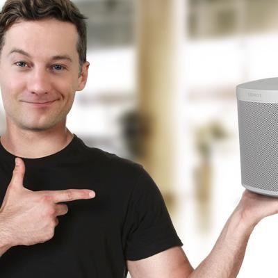 """Der Ausprobierer testet den """"Sonos One""""-Lautsprecher mit Alexa."""